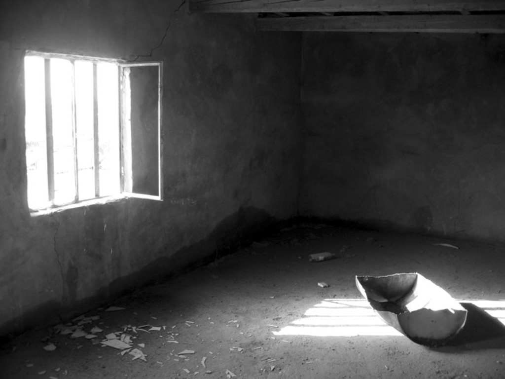 Dark room with light through window - They Open The Door Enough To Let In A Long Sliver Of Light Which Is Crossed Intermittently By The Slanted Shadows Of Their Arms